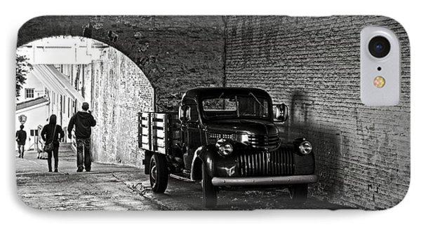 1940 Chevrolet Pickup Truck In Alcatraz Prison Phone Case by RicardMN Photography