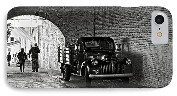 1940 Chevrolet Pickup Truck In Alcatraz Prison IPhone Case by RicardMN Photography