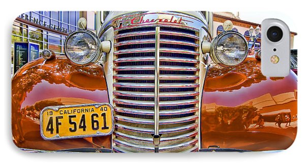 IPhone Case featuring the photograph 1940 Chevy Sedan by Jason Abando