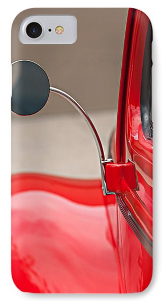 1940 Ford Deluxe Coupe Rear View Mirror IPhone Case by Jill Reger