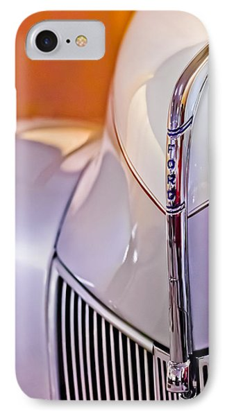 1940 Ford Hood Ornament Phone Case by Jill Reger