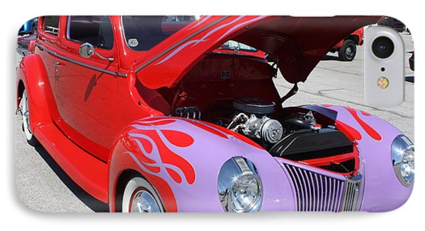 1940 Ford Two Door Sedan Hot Rod IPhone Case by John Telfer