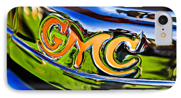 1940 Gmc Pickup Truck Emblem IPhone Case by Jill Reger
