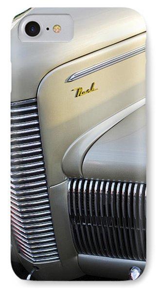 1940 Nash Grille Phone Case by Jill Reger