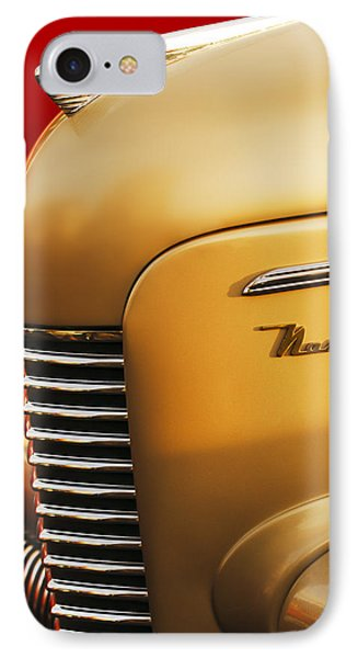 1940 Nash Sedan Grille IPhone Case by Jill Reger