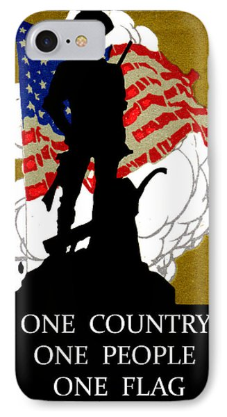 1940 One Country IPhone Case by Historic Image