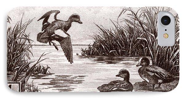 1942 American Bird Hunting Stamp IPhone Case