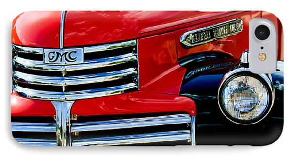 1942 Gmc  Pickup Truck IPhone Case by Jill Reger