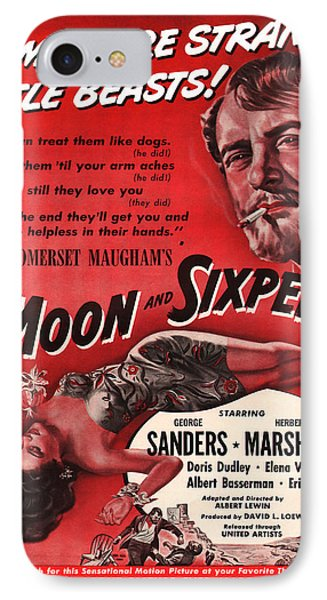 1942 The Moon And Sixpence Motion Picture Poster IPhone Case
