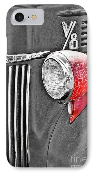 1944 Ford Pickup - Headlight - Sc IPhone Case