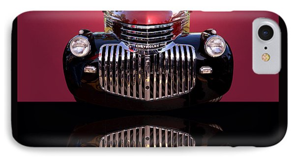 1946 Chevy Panel Truck IPhone Case by Jim Carrell