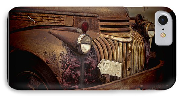 1946 Chevy Truck IPhone Case by Ron Roberts