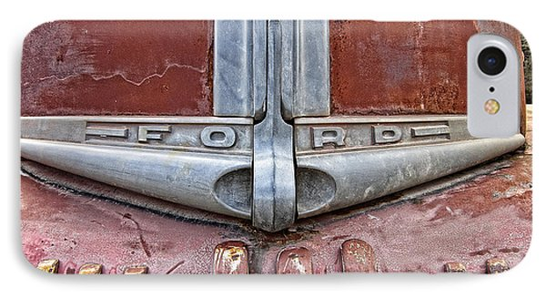 1946 Ford Truck Grill And Face Plate IPhone Case by Daniel Hagerman