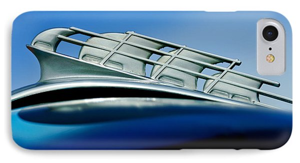 1946 Plymouth Hood Ornament Phone Case by Jill Reger