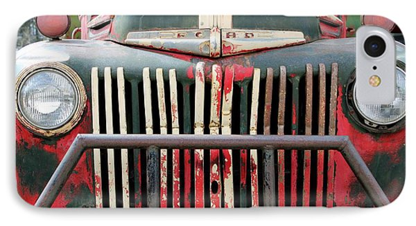 IPhone Case featuring the photograph 1946 Vintage Ford Truck by Fiona Kennard