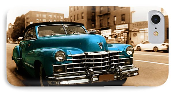 1947 Cadillac Convertible IPhone Case by Jon Woodhams