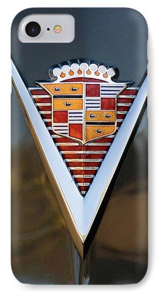 1947 Cadillac Emblem IPhone Case