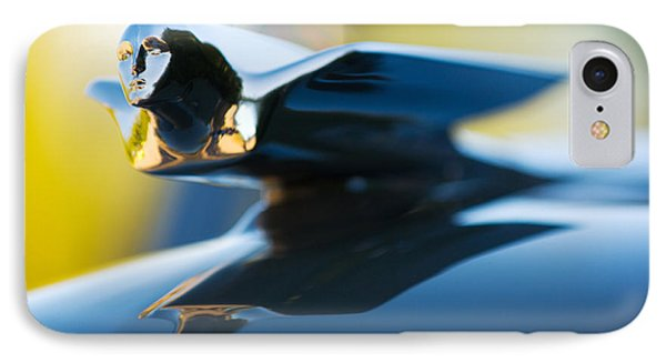 1947 Cadillac Model 62 Coupe Hood Ornament IPhone Case