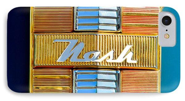1947 Nash Suburban Emblem IPhone Case by Jill Reger