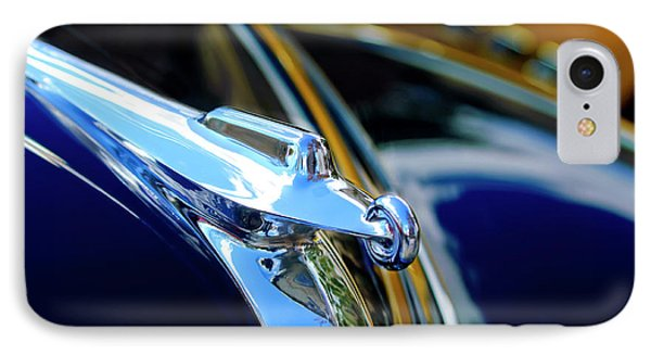 1947 Packard Hood Ornament 4 Phone Case by Jill Reger