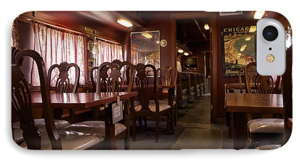 1947 Pullman Railroad Car Dining Room Phone Case by Thomas Woolworth