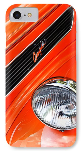 1948 Anglia 2-door Sedan Grille Emblem Phone Case by Jill Reger