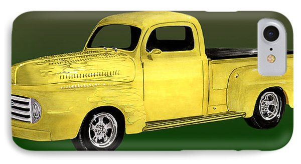 1948 Custom Ford Pick Up Phone Case by Jack Pumphrey