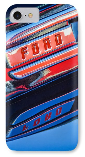 1948 Ford F-1 Pickup Truck IPhone Case by Jill Reger
