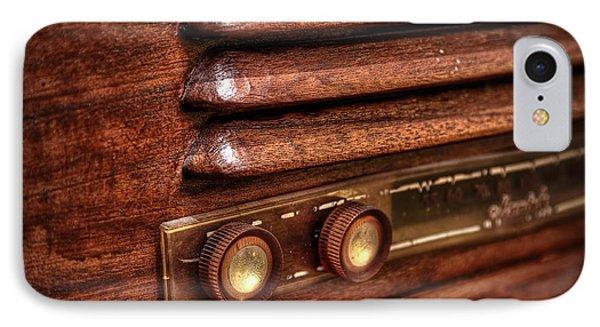 1948 Mantola Radio IPhone Case by Scott Norris