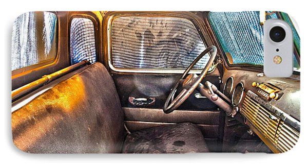 1949 Chevy Truck Cab IPhone Case by D Wallace