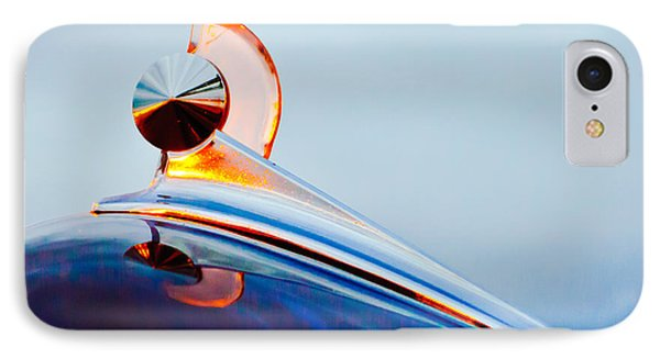 1949 Ford Hood Ornament 2 Phone Case by Jill Reger