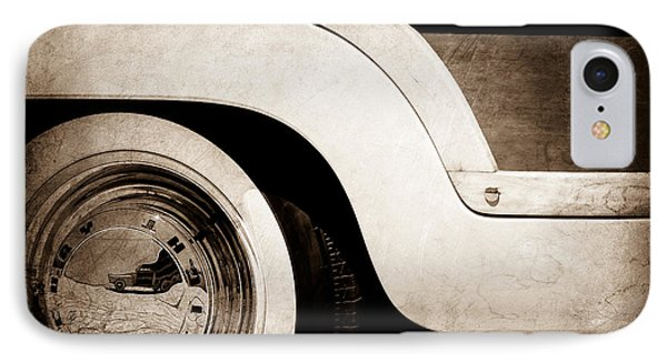 1949 Mercury Station Woodie Wagon Wheel Emblem IPhone Case