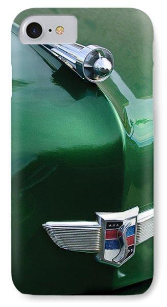 1949 Studebaker Champion Hood Ornament IPhone Case