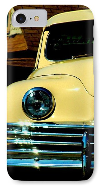 IPhone Case featuring the photograph 1950 Yellow Packard by Janette Boyd