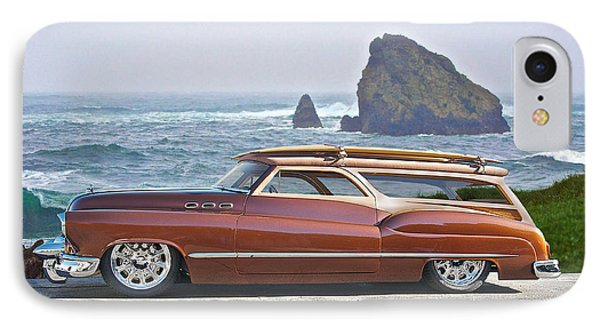 1950 Buick Woody Wagon V IPhone Case