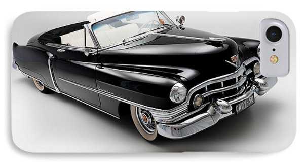 IPhone Case featuring the photograph 1950 Cadillac Convertible by Gianfranco Weiss