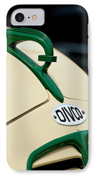 1950 Divco Milk Truck Hood Ornament Phone Case by Jill Reger