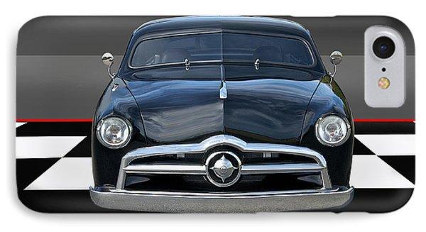 1950 Ford Custom I Phone Case by Dave Koontz