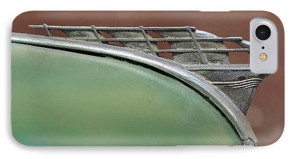 1950 Plymouth Hood Ornament - Image Art By Jo Ann Tomaselli IPhone Case