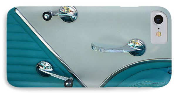 IPhone Case featuring the photograph 1950's Chevy Interior by Dean Ferreira