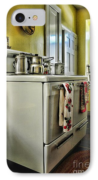 1950's Kitchen Stove Phone Case by Paul Ward