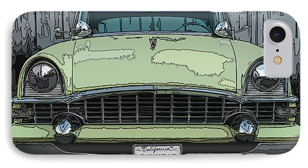 IPhone Case featuring the photograph 1950's Packard by Samuel Sheats