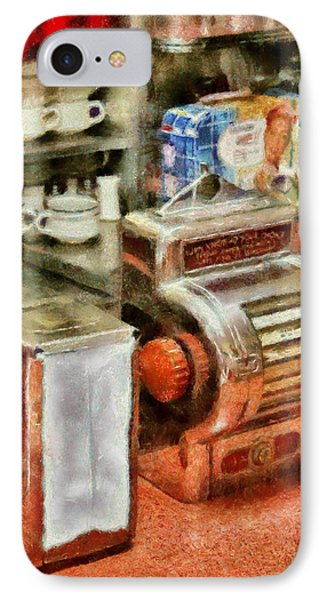 1950's - The Greasy Spoon Phone Case by Mike Savad