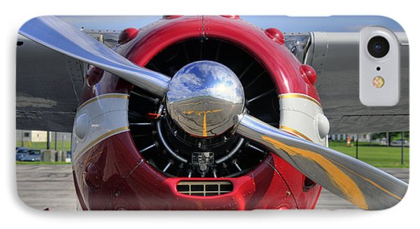 IPhone Case featuring the photograph 1951 Cessna 195 2 by Dan Myers