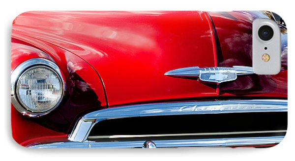 1951 Chevrolet Grille Emblem Phone Case by Jill Reger
