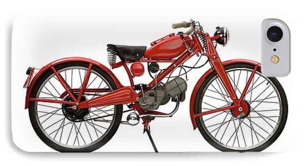1951 Moto Guzzi Hispania 65cc IPhone Case by Panoramic Images