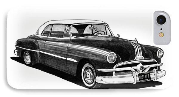 1951 Pontiac Hard Top Phone Case by Jack Pumphrey