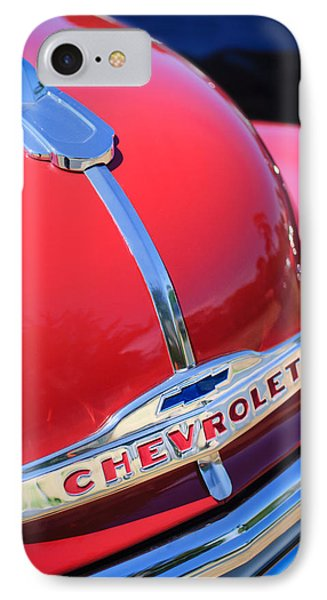 1952 Chevrolet Suburban Hood Ornament Phone Case by Jill Reger