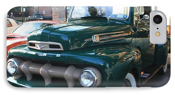 1952  Ford Pick Up Truck Front And Side View IPhone Case by John Telfer