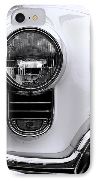 1952 Olds Headlight IPhone Case by Ron Roberts